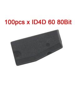 100pcs ID4D 60 Transponder Chip 80Bit Blank