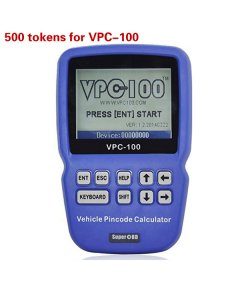 500 Tokens for VPC-100 Hand-Held Vehicle Pin Code Calculator
