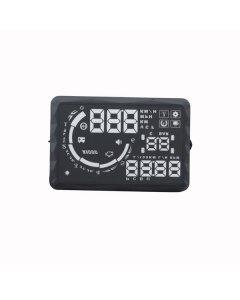 "New 5.5"" LED OBD-II HUD Head Up Display Over Speeding Warning S5"