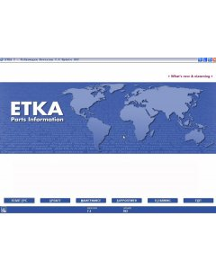 ETKA Electronic Catalogue V7.5 For Audi VW Seat Skoda