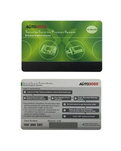 Autoboss V30/V30 Elite Security Card for One Year Online Update Global Version