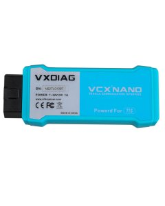 VXDIAG VCX NANO for TOYOTA TIS Techstream V14 Compatible with SAE J2534 WIFI Version Support to year 2019