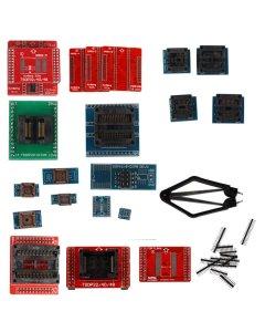 Full Set 21pcs Socket Adapters for Super Mini Pro TL866A/TL866CS EEPROM Programmer