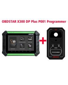 OBDSTAR X300 DP X-300DP PAD Key Master Tablet Key Programmer Full Configuration Plus P001 Programmer RFID & Renew Key & EEPROM Functions 3 in 1