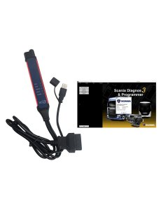 V2.43 Scania VCI-3 VCI3 Scanner Wifi Diagnostic Tool For Scania Truck Support Multi-language Win7/Win10