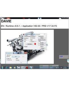 DAF DAVIE DEVELOPER TOOL and DAF DAVIE(DEVIK) for Adblue Removal Work with DAF VCI Lite