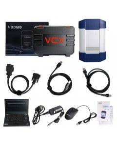 VXDIAG Multi Diagnostic Tool for Full Brands HONDA/GM/VW/FORD/MAZDA/TOYOTA/PIWIS/Subaru/VOLVO/ BMW/BENZ with 2TB HDD & Lenovo T420