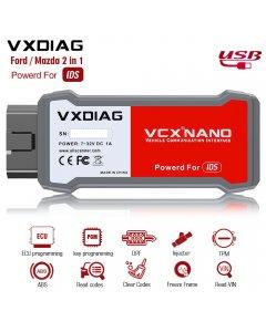 VXDIAG VCX NANO for Ford/Mazda 2 in 1 with IDS V114 Diagnostic Tool