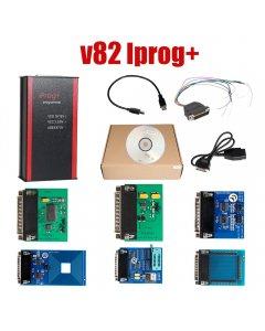 V82 Iprog+ Iprog Pro Programmer Support IMMO + Mileage Correction + Airbag Reset to year 2019 Replace Carprog Digiprog III Tango
