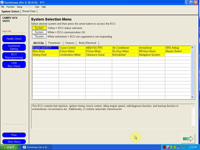V8.30.023 MINI VCI FOR TOYOTA TIS Techstream Single Cable Software-2