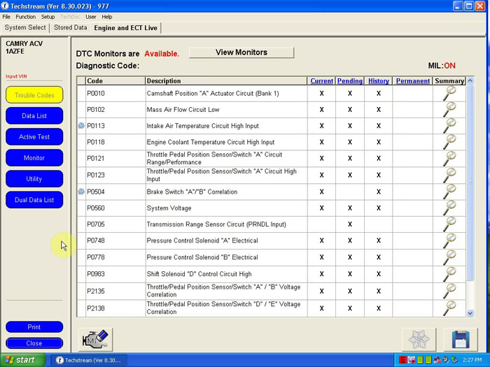 V8.30.023 MINI VCI FOR TOYOTA TIS Techstream Single Cable Software-3
