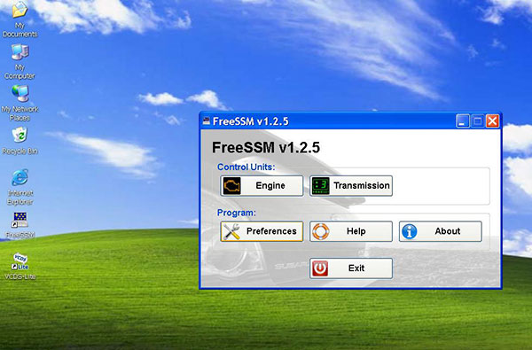 SUBARU FreeSSM Software Display 1