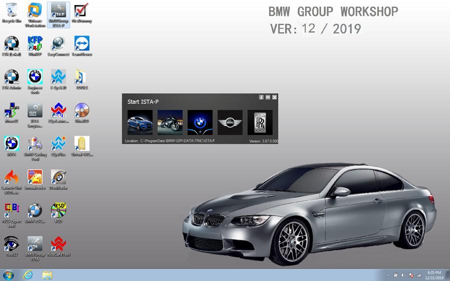 V2019.12 BMW ICOM