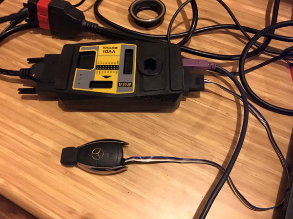 VVDI MB Tool Bag Connection Picture 2