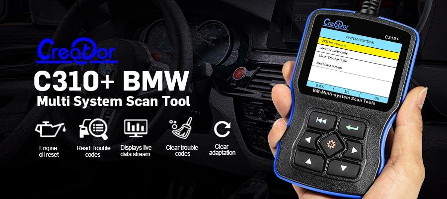 Creator C310+  BMW Scanner