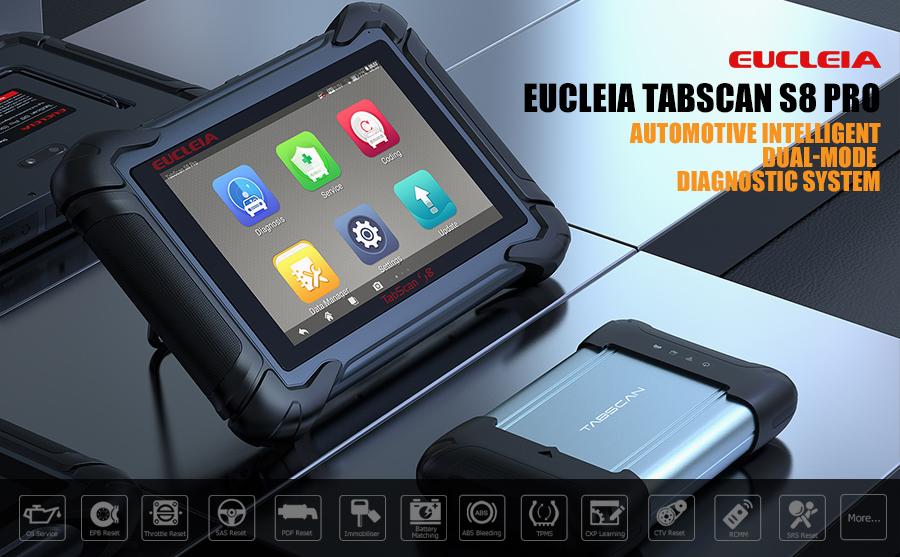 EUCLEIA TabScan S8Pro