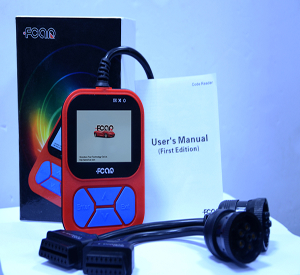 f502 heavy vehicle code reader full screen