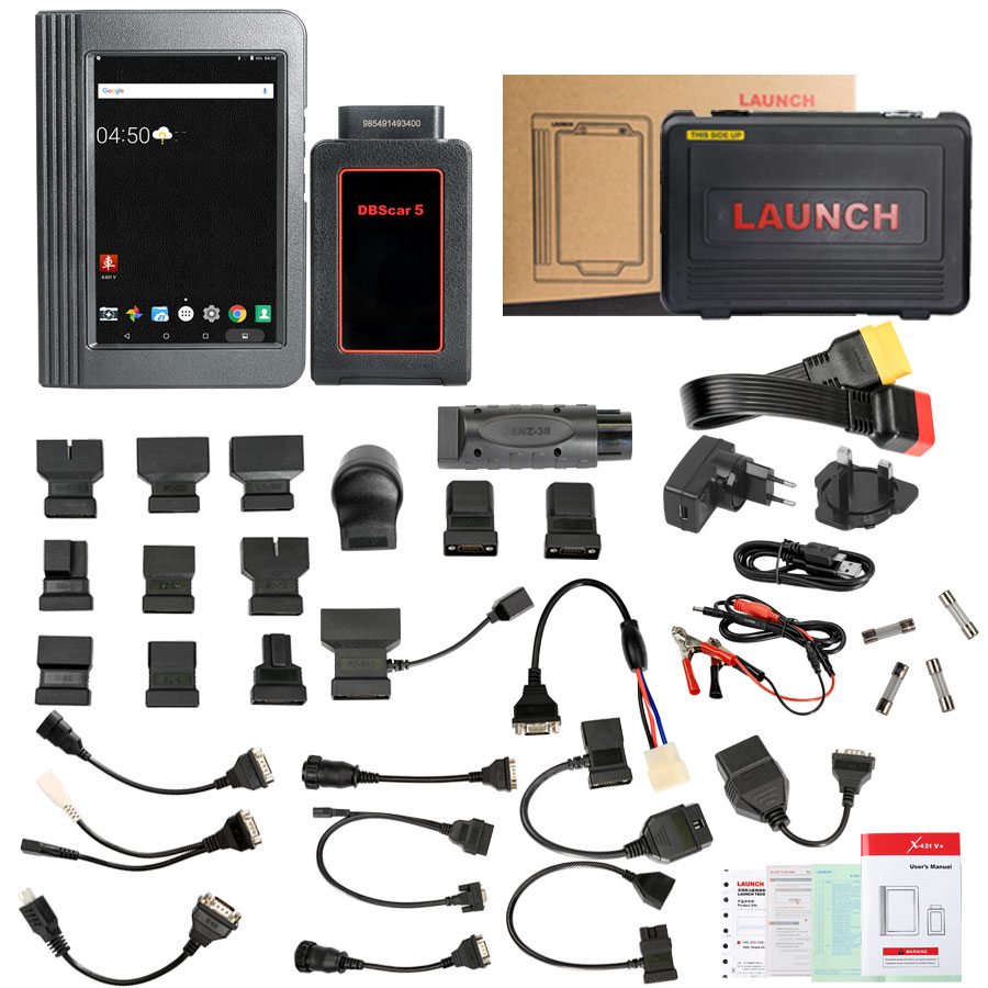 Launch V 8inch Package List