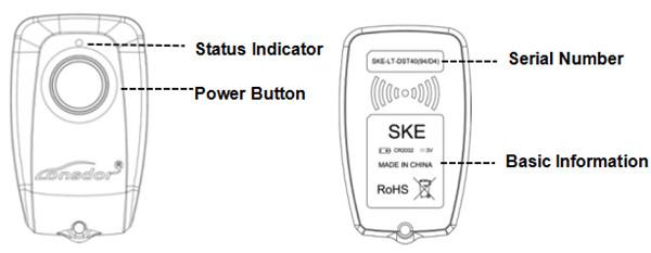 SKE-LT Smart Key Emulator for Lonsdor K518ISE Key Programmer-