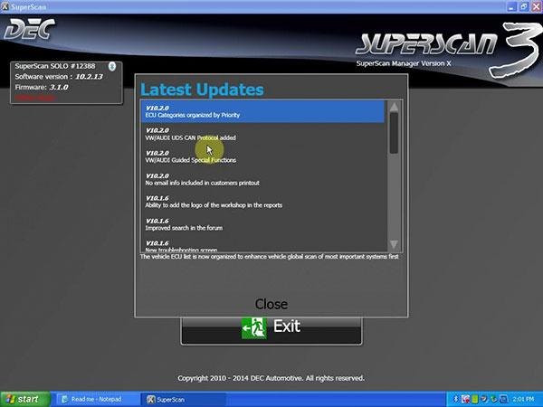 New PSA-COM PSACOM  Software 1