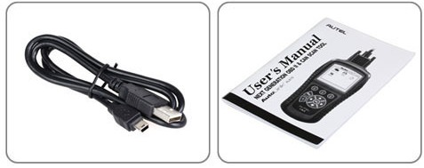 Autel AL619 OBDII Scan Tool packing list