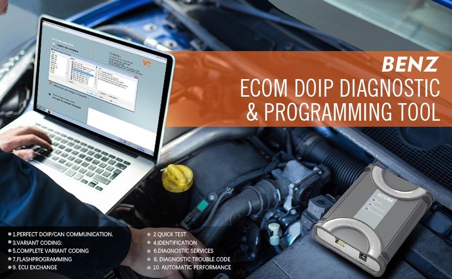 Benz ECOM Doip Diagnostic & Programming Tool