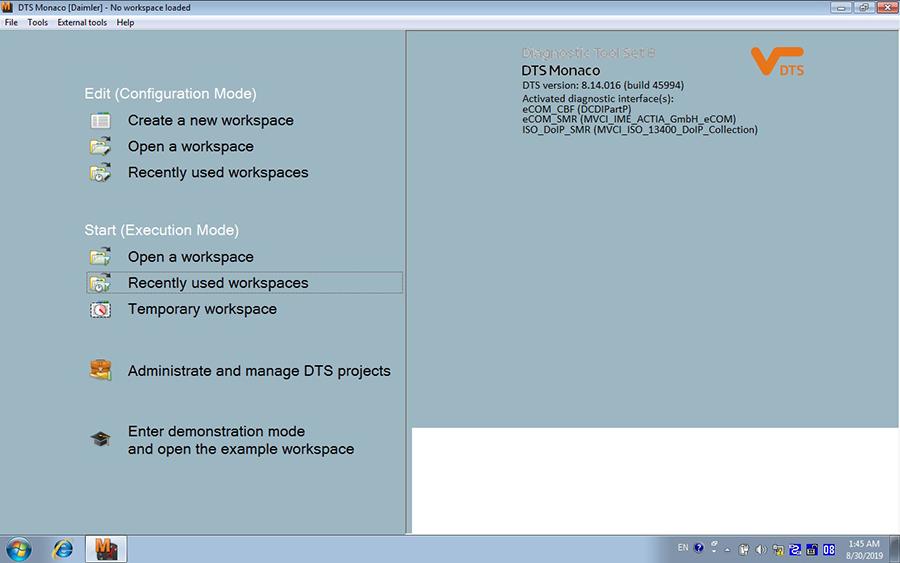 Benz ECOM Doip Diagnostic & Programming Tool Software